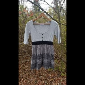 Grey Monteau mini dress
